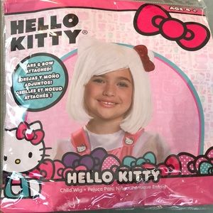 Hello Kitty child wig